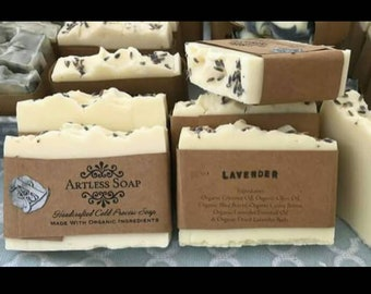 Lavender Cold Process Soap