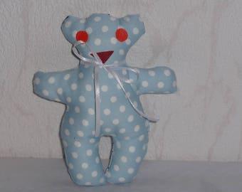Plush teddy bear fabric baby children