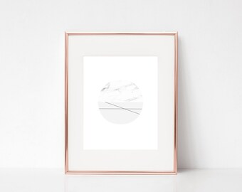 Minimalistic Marble Wall Art, Scandinavian Art, Modern Printable Art, Modern Geometric Printable Poster, Modern Marble Digital Print