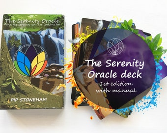 The Serenity Oracle 1st Edition deck (free gift to first 100)