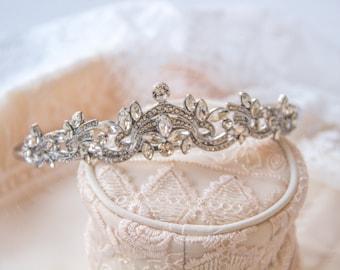 Exquisite Crystal Bridal Crown, Bridal Tiara, Wedding Crown, Bridal Headpieces, Accessories