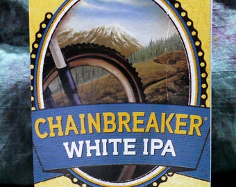 Spiral Notepad from Recycled Deschutes Chainbreaker White IPA 6-Pack Beer Carton