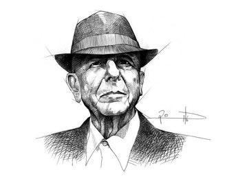 Leonard Cohen-Digital Archive