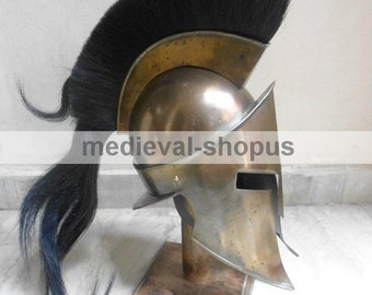 300 movie king spartan helmet leonidas larp Armour, europe, greek, greek war