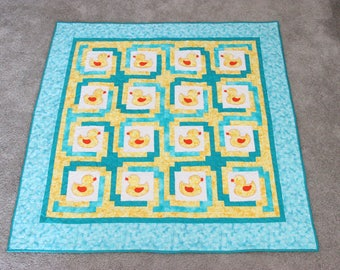 Rubber Ducky Baby Quilt