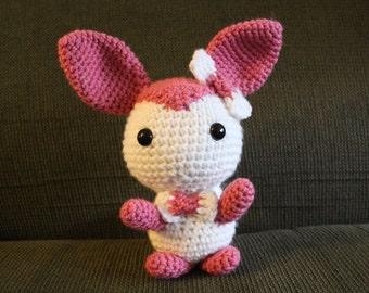 Crochet Chibi Sylveon Pokemon Plushie