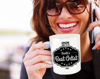 Artist Coffee Mug - Mug for Artist - Artiste - Artist Mug - Gifts for Artists - Art Teacher Gift - Best Artist - Art Gift for Artist