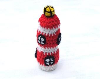 Lighthouse bottle cozy Baby bottle sleeve Beach theme Crochet cozy Water bottle cover Winter gift Gift from the sea Crochet lighthouse
