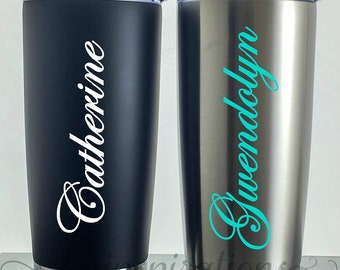 Personalized Travel Coffee Mug, Personalized, Travel Mug, Coffee Travel Mug, Coffee Cup, Coffee Mug, Tumbler, Monogram, Personalized, Mugs