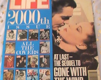 Life Magazine 2000th Issue -May, 1988