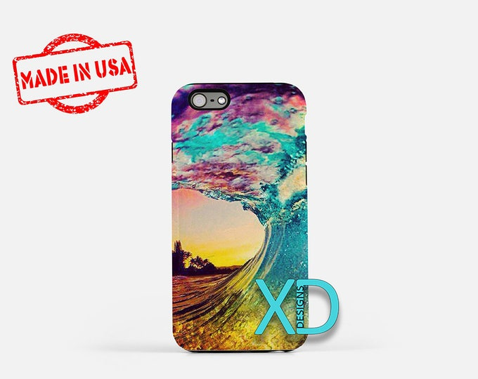 Surfer iPhone Case, Ocean iPhone Case, Beach Surfer iPhone 8 Case, iPhone 6s Case, iPhone 7 Case, Phone Case, iPhone X Case, SE Case