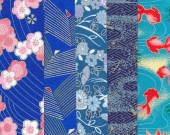 "japanese paper for origami ""Blue"""