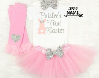 baby girls first easter outfit girls first easter outfit newborn girls first easter baby girls first easter bodysuit my first easter girl