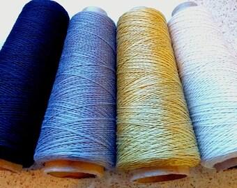 Pure Linen yarn on cone