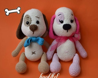 Crochet dog toy Baby Toy Handmade toys for kids and babys For boys and girls Amigurumi