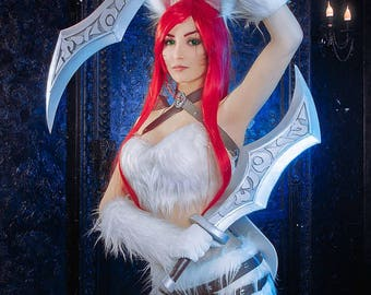Cosplay League of Legends Katarina Cat