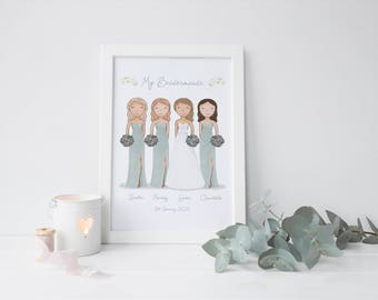 Bride gift from bridesmaid | Etsy