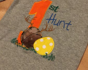 My First Hunt, Easter Egg shirt