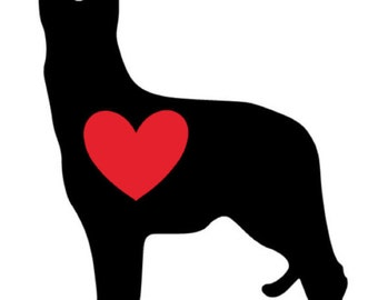 German Shepherd , German Shepherd Decal, Dog Decal, Decal, Cup Decal, Yeti Cup Decal, Car Decal, Laptop Decal