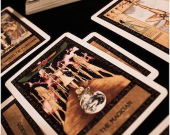 5 card Tarot Reading, General tarot reading, Tarot, Emailed reading