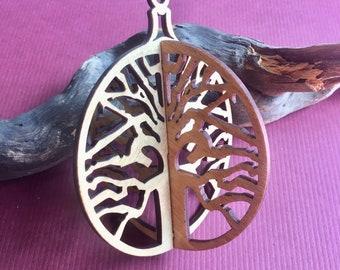 3-D Tree of Life Ornament