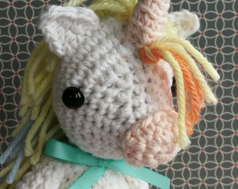 Amigurumi Crochet Pattern - Unicorn