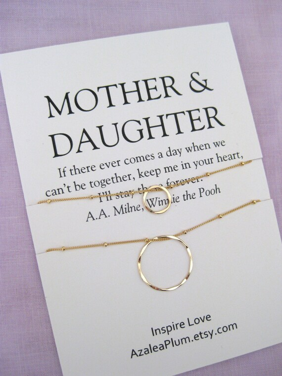 Mom Gift Mother Daughter Jewelry Birthday