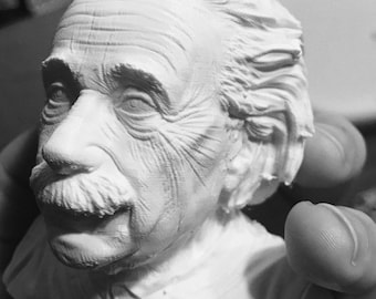 3D Printed Albert Einstein Bust