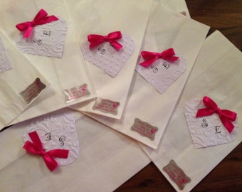 50 pieces Sachets Bags confetted Confetti Customizable wedding