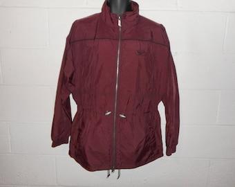 Women's Vintage 90s Reebok Windbreaker Jacket Medium