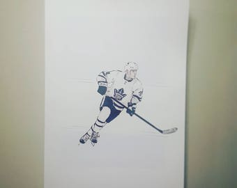 Auston Matthews / Toronto Maple Leafs / High Quality Print