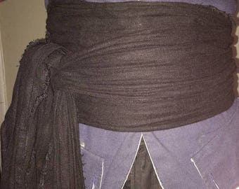 Pirate Sash 100% Linen
