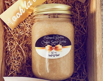 Oatmeal Raisin Cookie Brown Sugar Scrub
