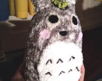 Totoro sock doll