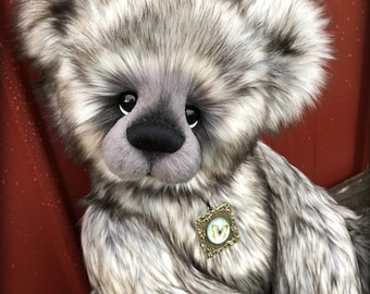 Mercury bear making KIT - make your own 21in faux fur jointed artist bear