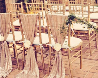 Beautiful Sequin Chiavari Chair Sash. Weddind Decoration. discount for over 10 pieces!