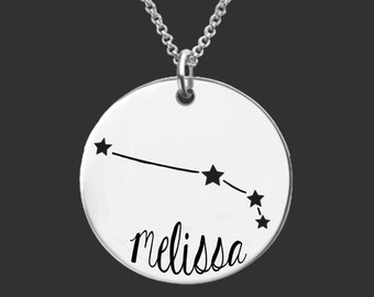 Aries Zodiac Necklace   Aries Constellation Necklace   Astrology Necklace   Zodiac   Personalized Gifts   Korena Loves