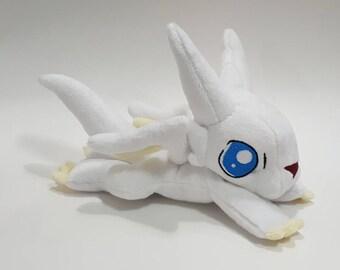 Dragon Drive - Chibisuke - dragon - custom plush - ready to be shipped
