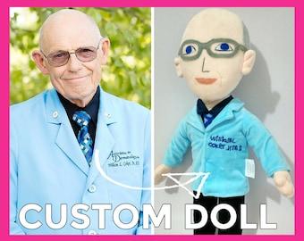 Custom Boss Doll - custom office gift, office gag gift, office prank, promo gift, custom promo gift