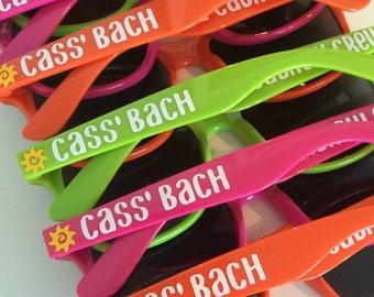Bachelorette Party Sunglasses, Bachelorette Gift, Bridal Party Sunglasses, Bachelor Party, Custom Sunglasses, Personalized Sunglasses