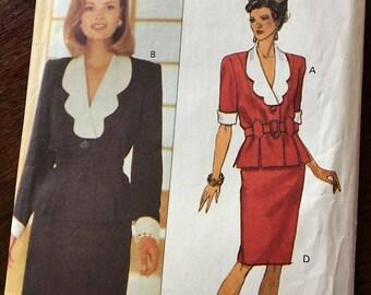 Butterick 6587 Skirt and Top Pattern Sz 12, 14, 16
