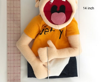 Jeffy Jeffy Puppet from SML Youtube movies hand puppet