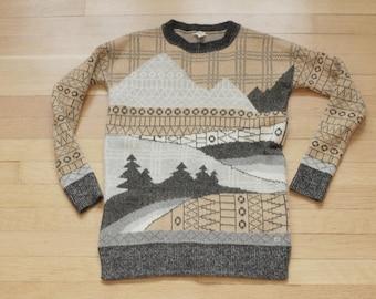 Vintage Women's Woolrich Wool Sweater / Hipster / XS