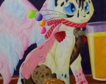 The Great Candy Cat (Print)