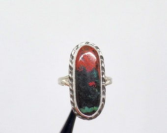 Sonoran Sunrise Ring, Sonora Sunrise Ring, Sterling Silver Sonora Sunrise, Size 8, Ladies Sonora Sunrise Ring, Gift For Her, 1609