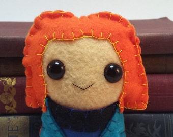 Beverly Crusher - Star Trek TNG plushie (made to order)
