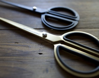 """Gold or Black Scissors 8"""" - Tools To Liveby"""