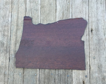 state of Oregon, Oregon wall hanging, rustic tin state of oregon, Oregon decor, Oregon