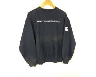KANGOL 38 Funtional Design Large Size Sweatshirt Long Sleeve Sportwear