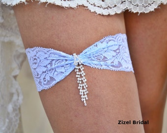 Pale Blue Garter, Brides Garter Set, Lace Garter, Elegant Garter, Retro Garter, Garter Set Blue, Lace Garter Set, Garter Set Blue, Jewelry